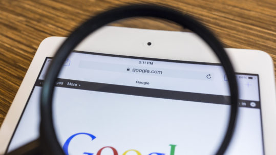 Google, rey entre los buscadores en Internet.