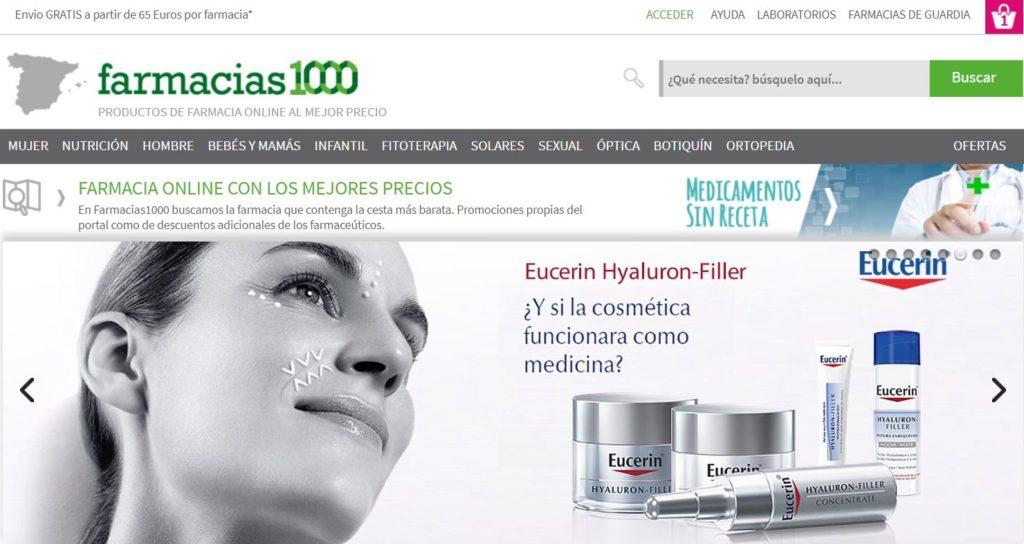 Web de Farmacias1000.com