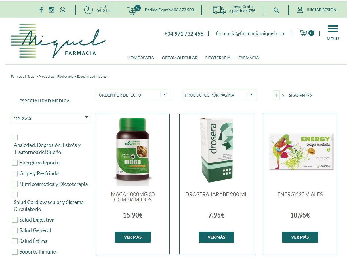 farmacia miquel