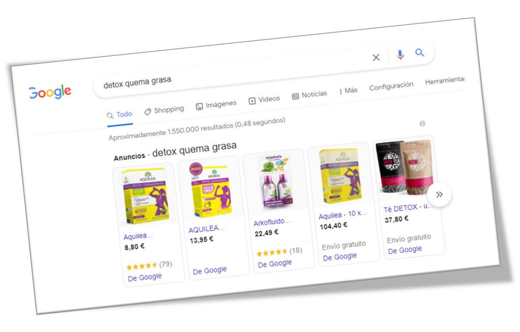 google shopping integrado con markeplace